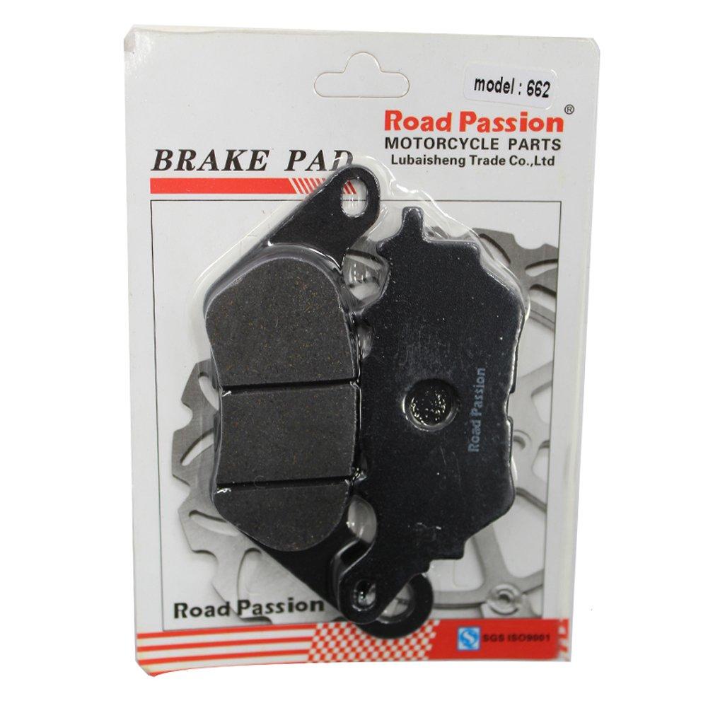 Road Passion Bremsbel/äge Vorne f/ür YAMAHA YBR125 3D92//9 2007-2011 YBR 125 Custom 2008-2016
