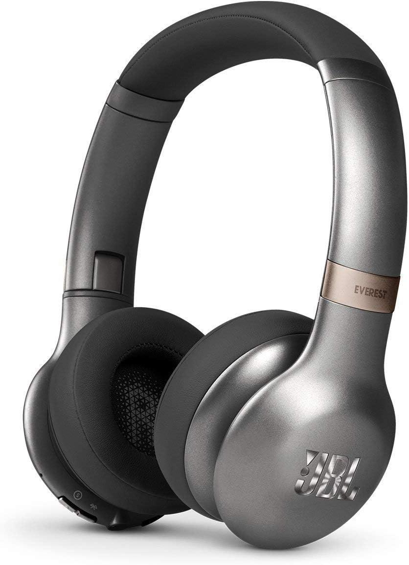 JBL Everest 310GA Bluetooth Headphones with Built-in Remote and Mic - Gunmetal (Renewed)