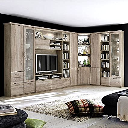 Corner Wall Unit Cornwall Sonoma Oak Imitation Amazoncouk