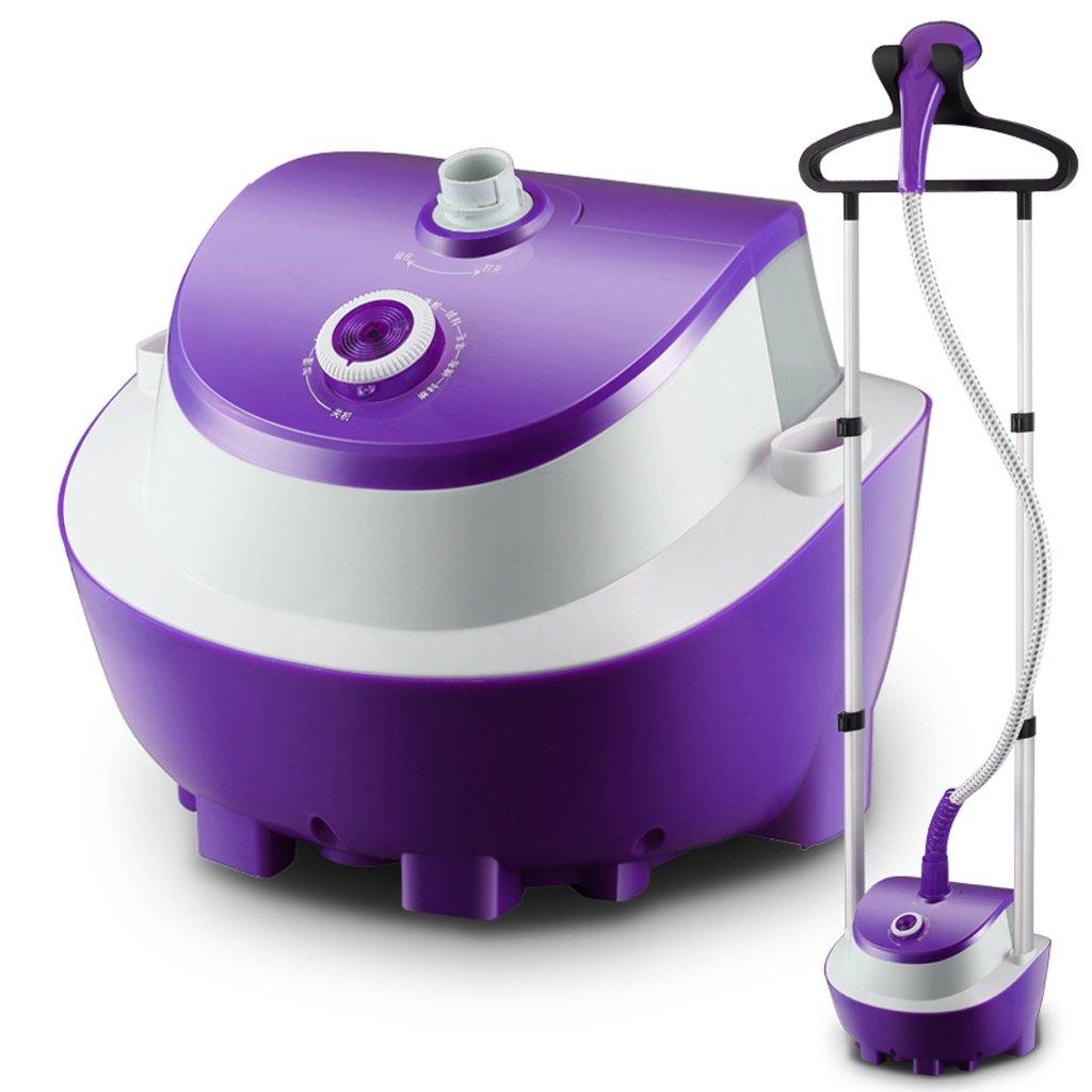MMM Dampf-hängende Maschine Home Doppel-Bar Handheld Bügelmaschine Elektrische Eisen Vertikale Bügeln Kleider , 100% Sicherheit ( Farbe : Lila )