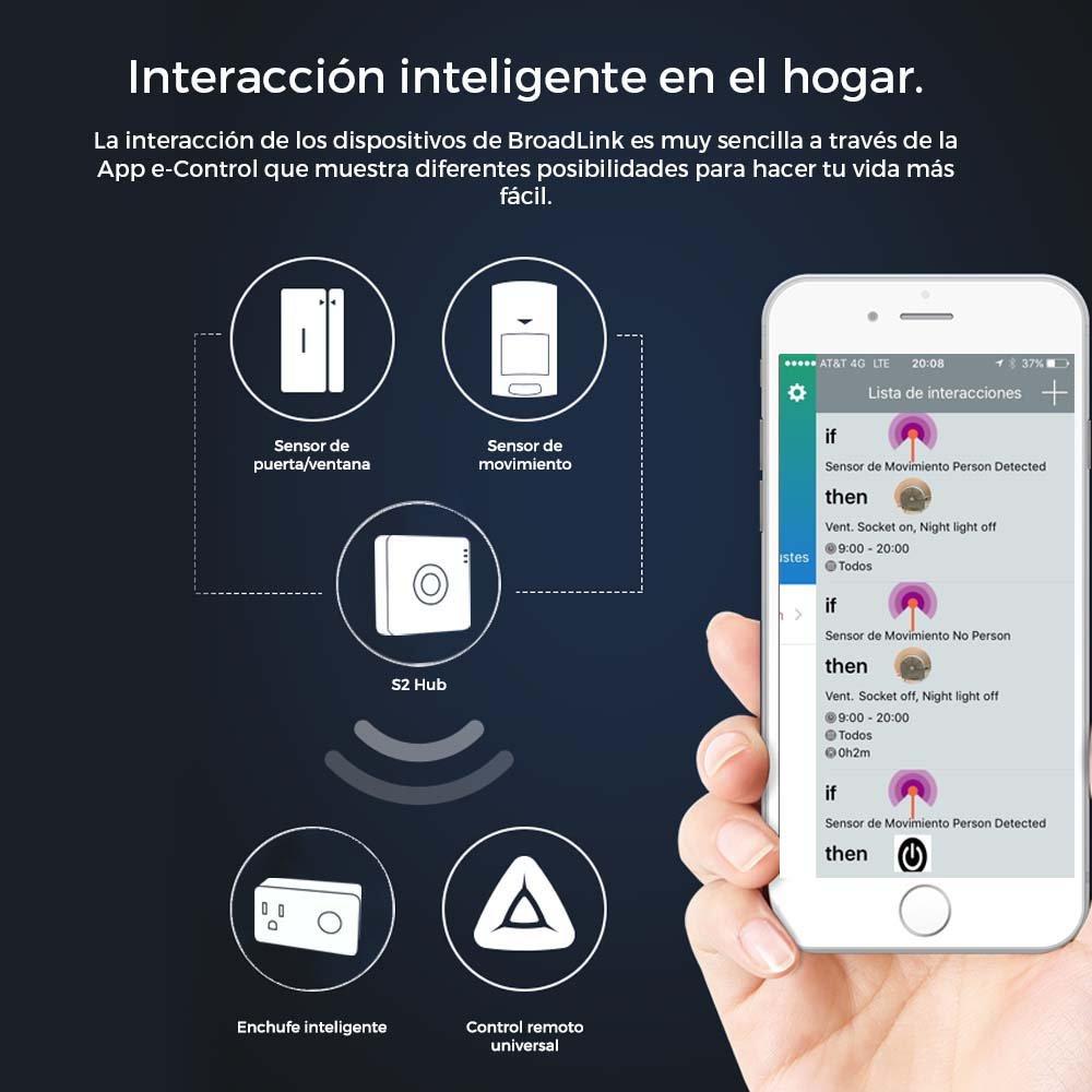 Kit Alarma Completo antirrobo Inalámbrico sensor contacto Magnético para puerta y Ventana Sensor de movimiento PIR Wifi App iPhone Android Smartphone Remote ...