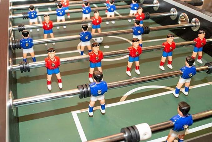 Devessport - Futbolín Silver con Jugadores de piernas Abiertas ...