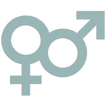 Cuadros Lifestyle Wandobjekt Gender Symbol Mann Frau Male Female