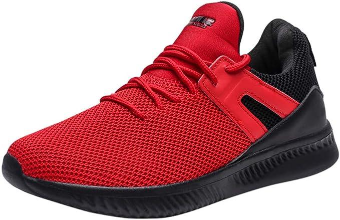 Darringls Zapatos para Hombre,Zapatos Deporte para Correr Trail Fitness Sneakers Ligero Transpirable Zapatillas Running Hombre Mujer: Amazon.es: Ropa y accesorios