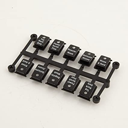 Amazon Bosch 00498722 Dishwasher Control Panel Button Set