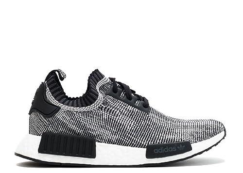 promo code 5c120 5c258 adidas Originals NMD R1 Runner Primeknit Core Negro Gris Glitch Camuflaje  Hombres de Tamaño 9,5 Amazon.es Zapatos y complementos