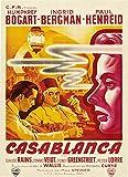 Casablanca (France) Movie Poster Fridge Magnet (2.5 x 3.5 inches)