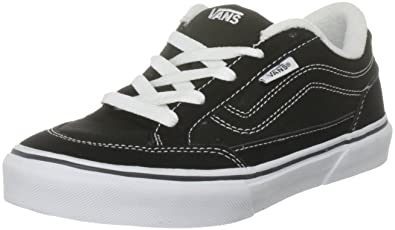 808283141a Vans Boy s Bearcat (S11) Black White Skateboarding Shoe VN000DT04FQ (US  10.5 Y