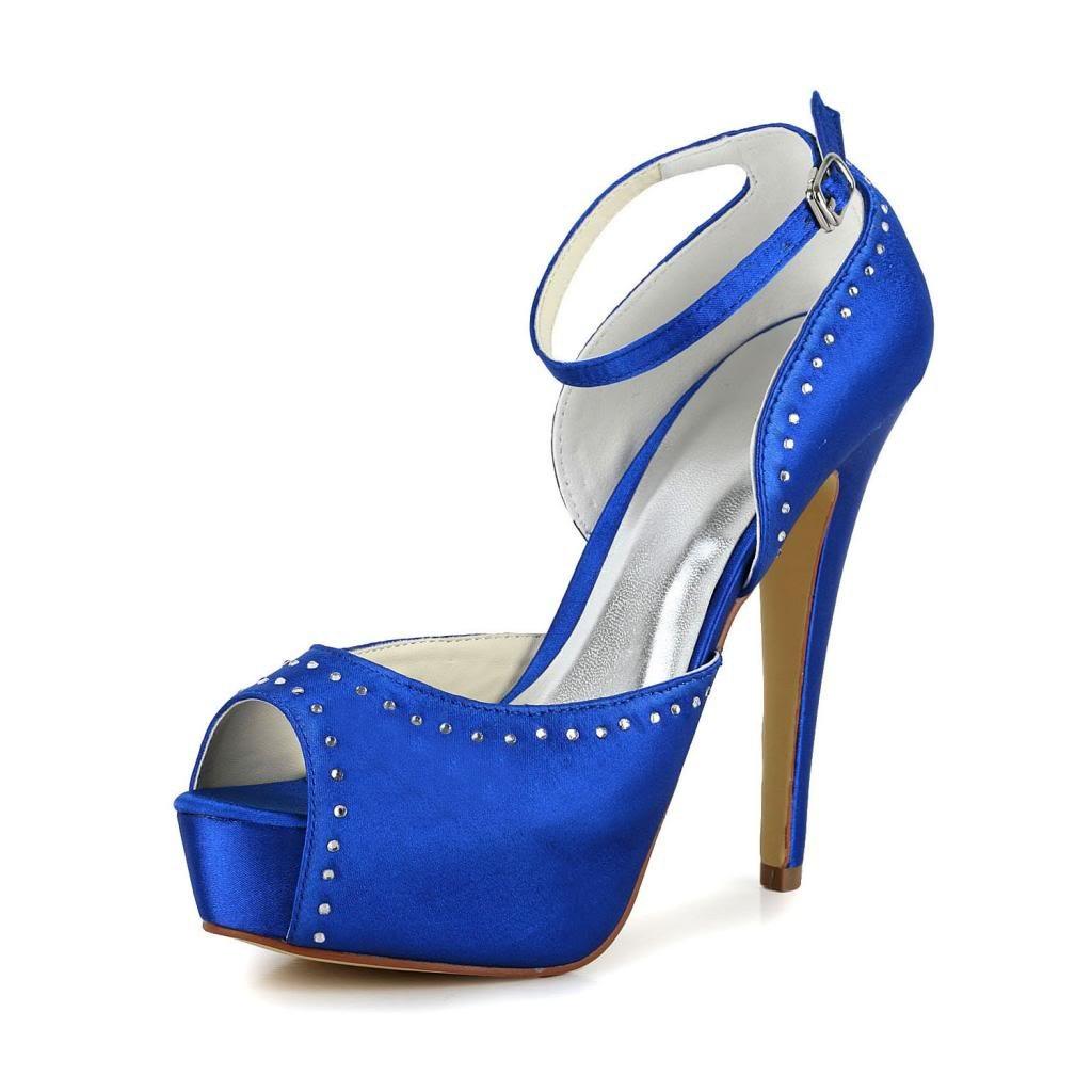 Jia 19923 Jia Wedding 20120 chaussures Bleu de mariée mariage mariage Escarpins pour femme Bleu 250f4b1 - robotanarchy.space