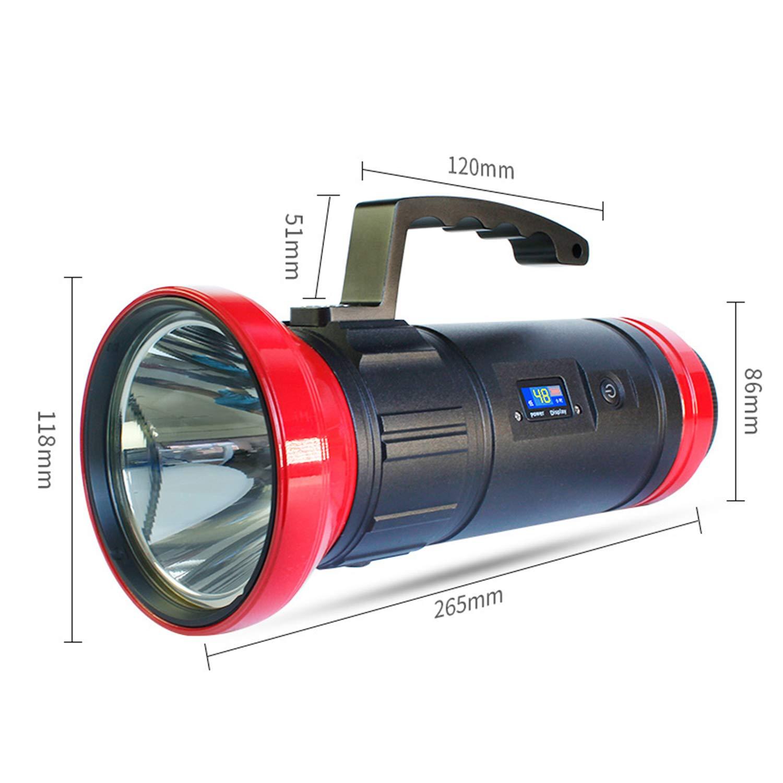 WSXX Super Bright Powerful LED High-Power Fishing Light, Night Fishing Light, Super Bright Glare Fishing Flashlight by WSXX (Image #6)