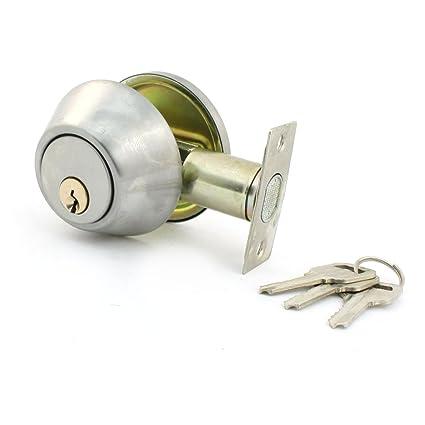 Maniglia Rotonda Di Metallo Con Serratura E Chiavi Per Sicurezza