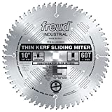 (US) Freud LU91M010 10-Inch 60 Tooth ATB Crosscutting Miter Saw Blade with 5/8-Inch Arbor