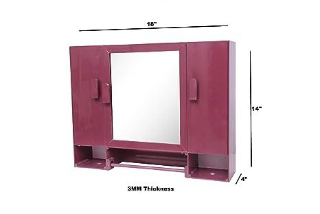 WINACO Monalisa 3 Bathroom Mirror Cabinet Furniture  Home   Kitchen