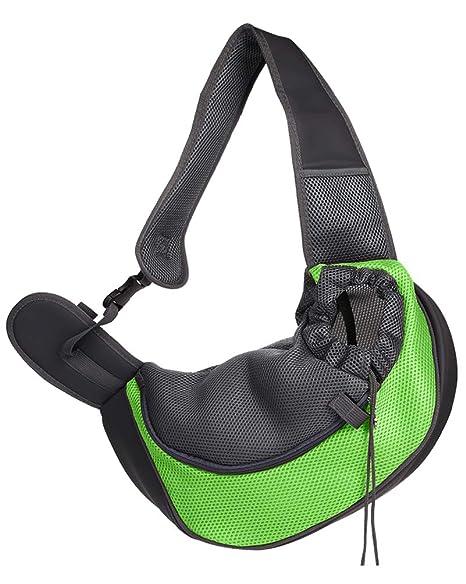 Flairstar Perro Pequeño Ajustable Portador Bolsa para Mascotas Bolsa de Transporte Suave y Cómoda Bolso para