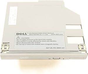 Dell CD-RW/DVD Drive Gray 8W007-A01 T6411 Latitude D620 D520 D630 ATG D830