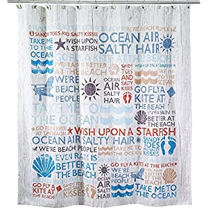 61%2BsKNaNBHL._SS300_ 200+ Beach Shower Curtains and Nautical Shower Curtains