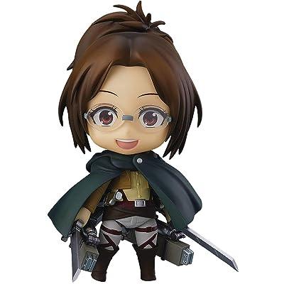 Good Smile Attack On Titan: Hange Zoë Nendoroid Action Figure, Multicolor (4580416908269): Toys & Games