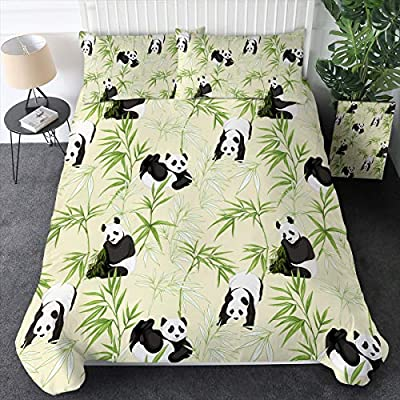 Sleepwish Panda Pattern Duvet Cover Set from Youhao