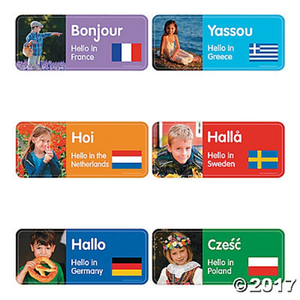 Amazon 60 Greetings From Around The World Bulletin Board