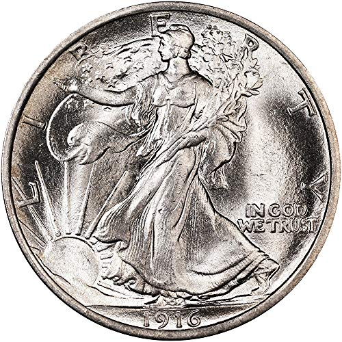 1916-1947 Walking Liberty Half Dollar 90% Silver Extra Fine Half Dollar Very Fine .50 -