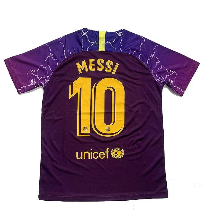 check out 1dd71 308ee Nangeri Barcelona 2018-19 Season Messi #10 Mens ...