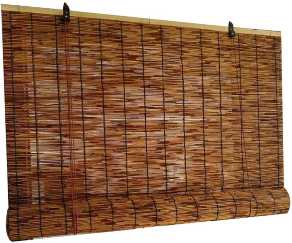 XYNH Store Enrouleur Bambou Rideau De Roseau Store Anti-Regard en Bambou pour Portes Et Fen/êtres Et Int/érieur Et Ext/érieur,Stores sur Mesure