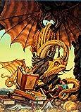 Dragon Tales 1500 Piece Jigsaw Puzzle