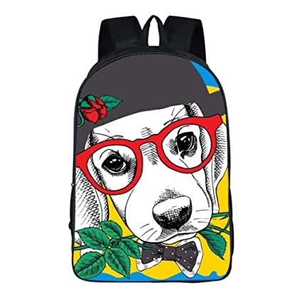 Amazon.com: Joyloading Cartoon 3D Cute Dog Children Backpack Casual Schoolbag Pupils Shoulders Bag (Style1): Sports & Outdoors