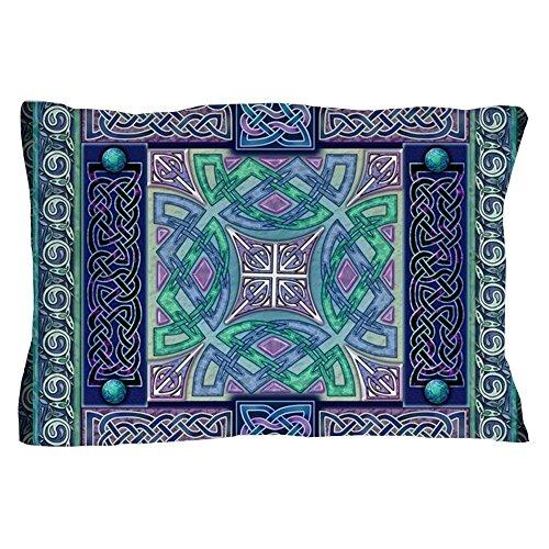 CafePress Celtic Atlantis Opal Pillow Case Standard Size Pillow Case, 20
