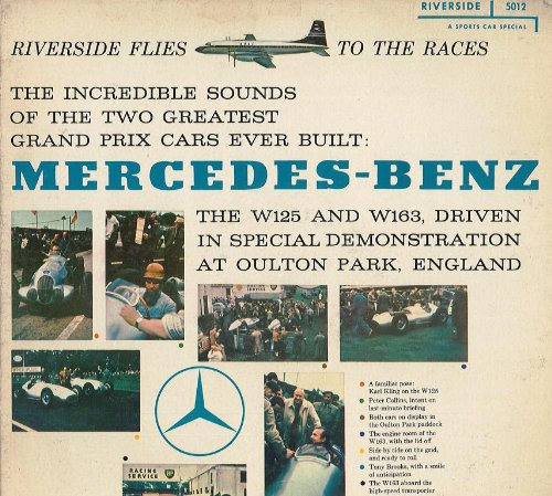 Price comparison product image RIVERSIDE FLIES BOAC TO THE RACES - MERCEDES-BENZ