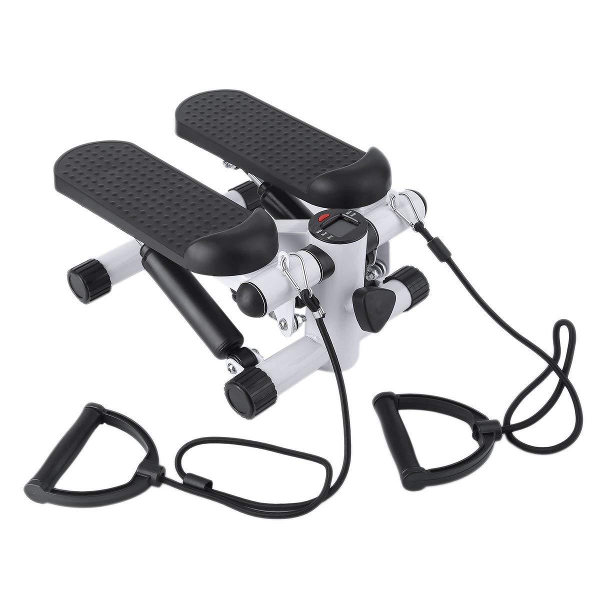 Huldaqueen Household Multifunction Aerobic Fitness Step Air Stair Climber Stepper Exercise Machine Equipment Mini Treadmill