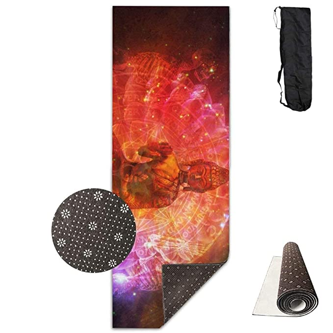 picked up elegant appearance exquisite design Amazon.com: Buddha is Reborn in Nirvana Yoga Mat Towel for ...