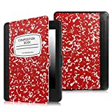 Fintie Case for Kindle Paperwhite, [Blade Series] Premium Protective PU Leather Cover Auto On/Off for All-New Amazon Kindle Paperwhite (Fits All 2012 2013 2014 and 2015 Versions), Composition Book R