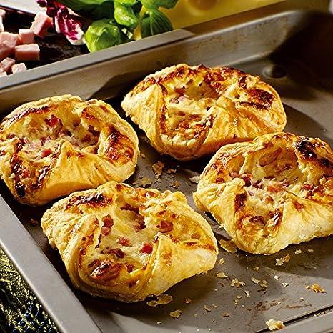 Besser Blätterteig Nester Schinken Käse 880 G 8 Stück Amazonde