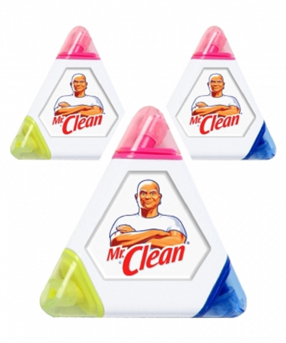 25 Custom Printed Triangle Highlighter in Full Color with Your Company/School Logo or Message