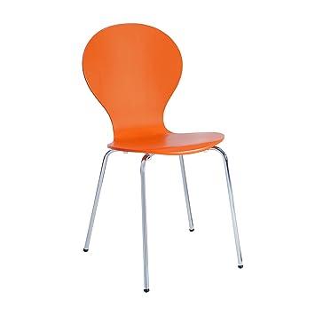 Design Klassiker FORM Stapelstuhl Küchen-Stühle Stuhl stapelbar ...