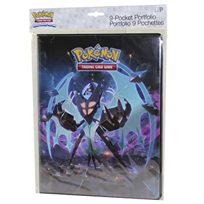 Ultra Pro 9-Pocket Portfolio for Pokemon Sun and Moon Series 5: Toys & Games