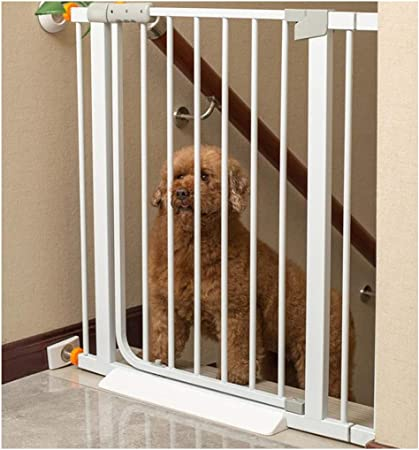 YONGYONG-Guardrail Barreras de Puerta Barrera De Seguridad For Mascotas Pasarela For Perros Pasillo Interior Barandilla Aislamiento De Seguridad For Niños Valla Valiente Valla Valla Grande Universal: Amazon.es: Hogar