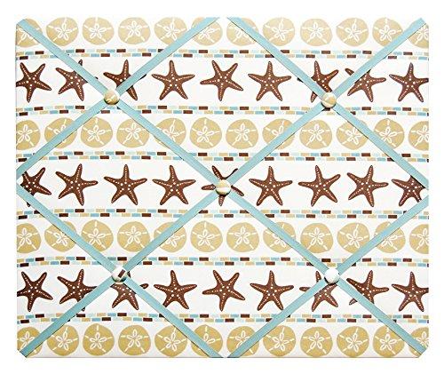 Starfish and Sand Dollar Beach Theme French Memo Board