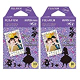 Fujifilm Instax Alice in Wonderland Film Pack Instant Print Mini Cameras 2 Pack 20 Sheets