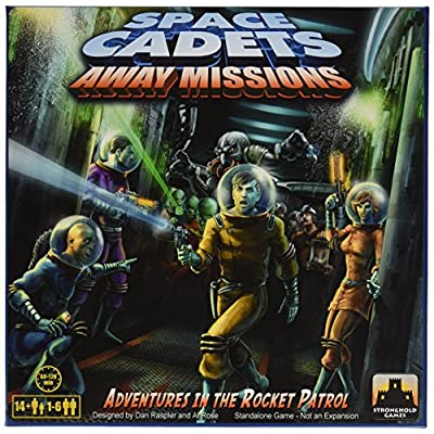 Space Cadets Away Missions Board Game: Toys & Games