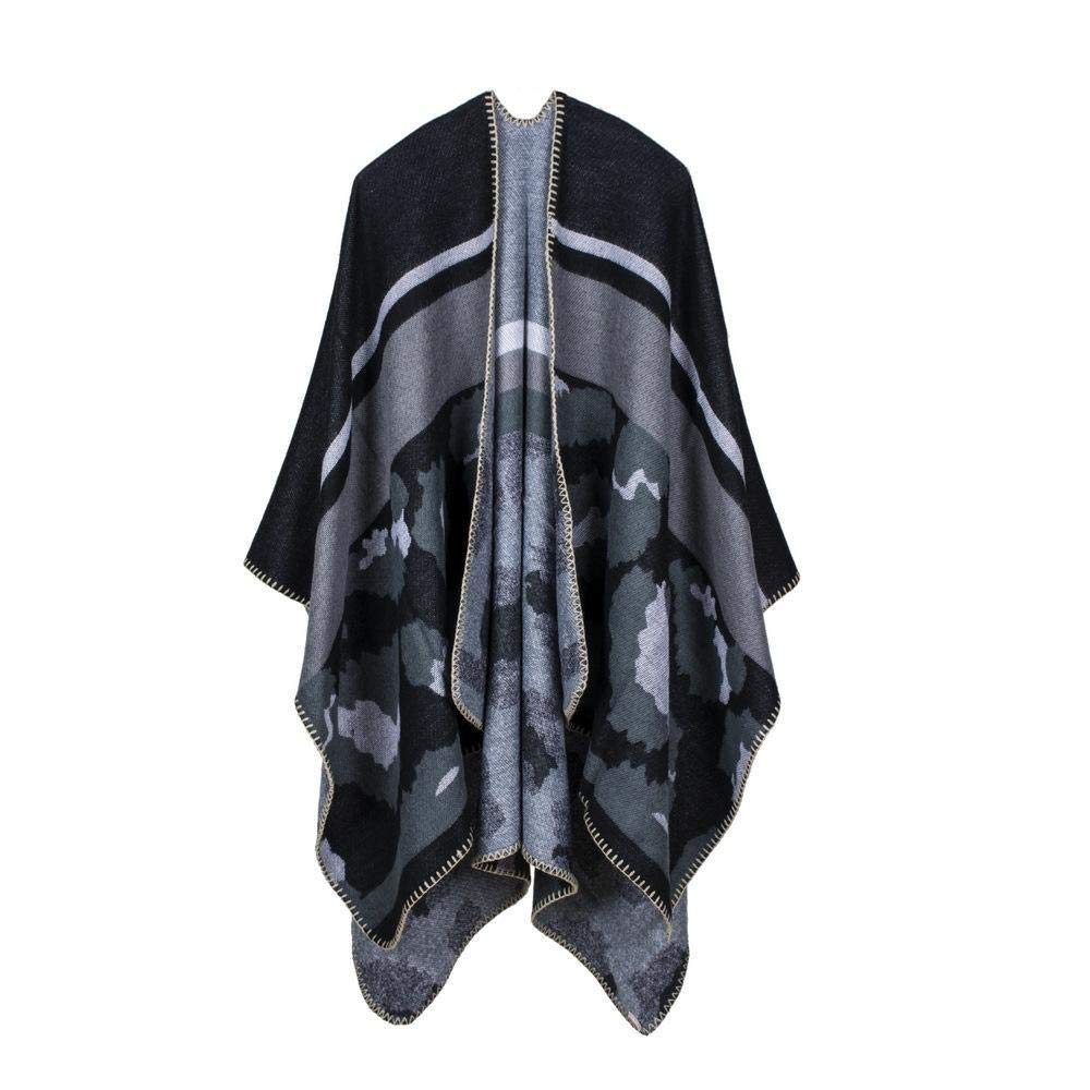 LXIANGP Ladies Shawl Leopard Triangle Stitch Seam Office Multi-Function Cloak, Send Girlfriend, Lover, Mother