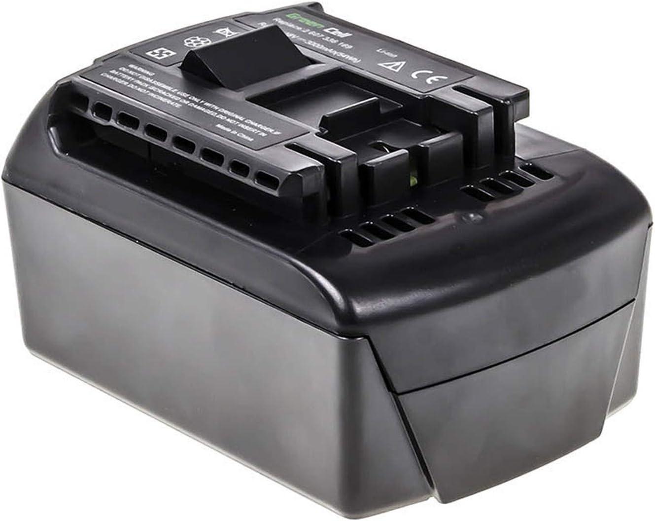 GC/® 3Ah 18V Li-Ion celdas Bater/ía para Bosch GOP 18 V-28 de Herramienta El/éctrica