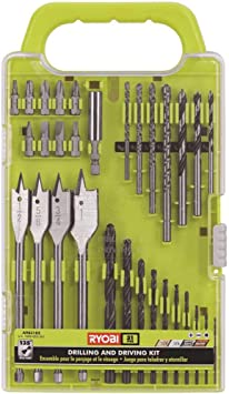 Electrician Repair Box 31 In1 Drill and Screwdriver Bit Set Industrial Spade Paddle Flat Wood Woodworking Boring Drill Bits with Portable Bag
