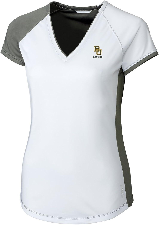 CBUK NCAA Womens Short Sleeve Presley V-Neck Tee Shirt