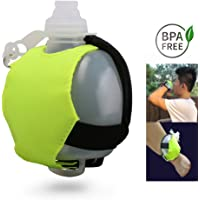 SOYAR Adjustable Wrist Running Water Bottle,Fits Marathons,Cycling, Walking, Running, Sports, Leisure and All Outdoor Activities