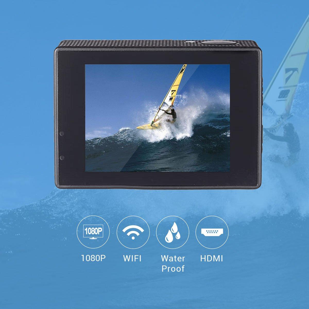 Topjoy WiFi a prueba de agua mini portátil de cámara de los ...