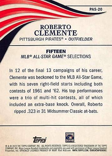 2019 Topps Update Perennial All-Stars #PAS-20 Roberto Clemente Pittsburgh Pirates Baseball NM-MT