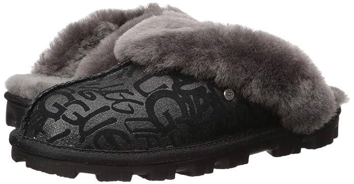 Amazon.com: UGG Womens Coquette Sparkle Graffiti Slipper: Shoes