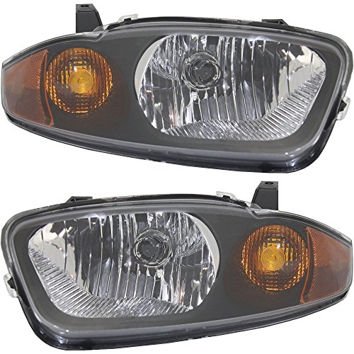 Headlight for CHEVROLET CAVALIER 03-05 RH AND LH Assembly Halogen